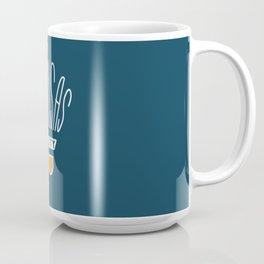 Kansas City Shuttlecock Type - White Coffee Mug