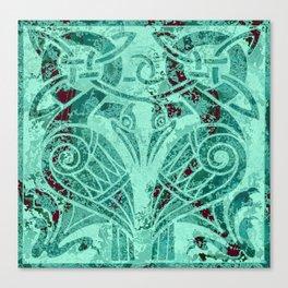 Celtic Zoomorphic Canvas Print