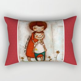 No Matter What - by Diane Duda Rectangular Pillow