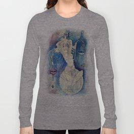 Goddess of Libra - An Air Element Long Sleeve T-shirt