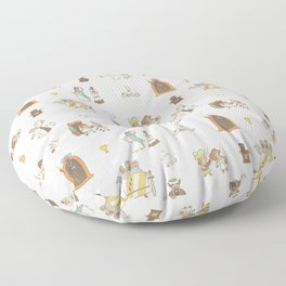 The Holy Grail Pattern Floor Pillow