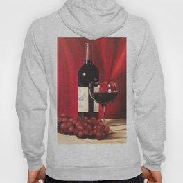 Red Wine, Still Life Hoody