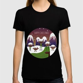 // In the mountains of Pudding Lane // T-shirt