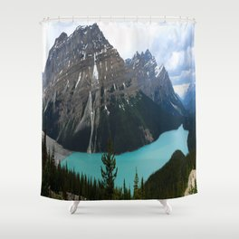 Peyto Lake Panorama Shower Curtain