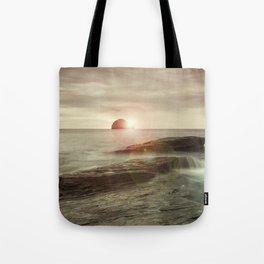Sea and Sunset Tote Bag