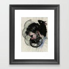 Isaac Brock Framed Art Print