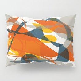 Abstract Bird Pillow Sham
