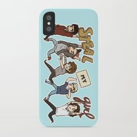 kendrawcandraw iPhone & iPod Cases featuring Everybody Wanna by kendrawcandraw