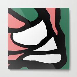 Abstract Painting Design - 4 Metal Print