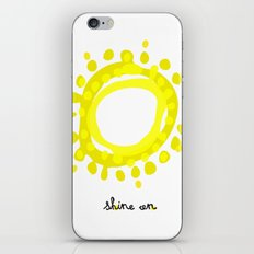 Shine on! iPhone Skin