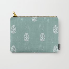 Pinecones (Moss) Carry-All Pouch