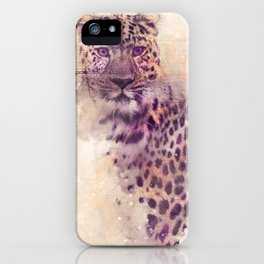 Gepard art series iPhone Case