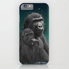 Gorilla Brothers iPhone Case
