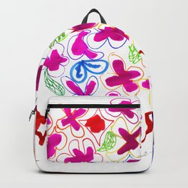 Spring Blooming Flowers Backpack