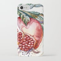 pomegranate iPhone & iPod Cases featuring Pomegranate by Irina Vinnik