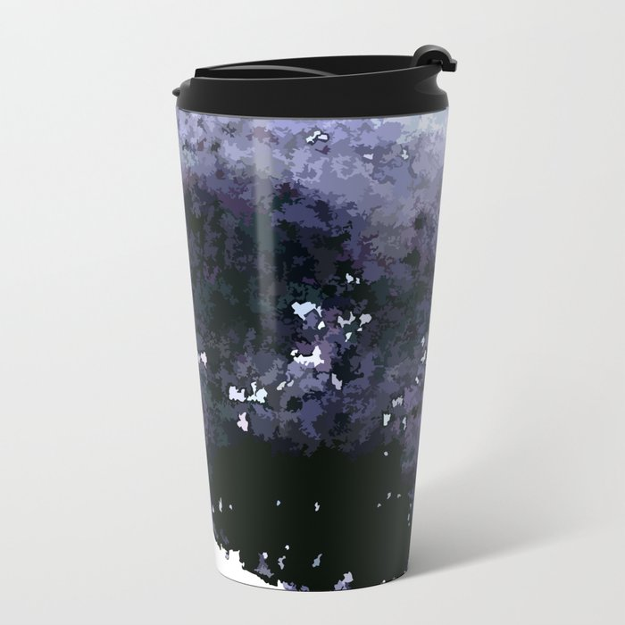 When the night is falling Metal Travel Mug