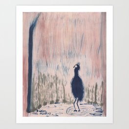 Have You Heard About the Bird? Art Print