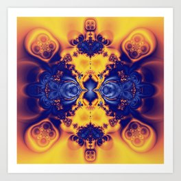 Converge Art Print