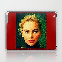Jennifer Lawrence (Von Gogh) Laptop & iPad Skin