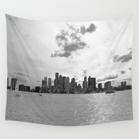 boston Wall Tapestries featuring Boston by NaturallyJess