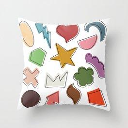 Thingamajigs Throw Pillow