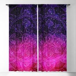 Galaxy Mandala 001 Blackout Curtain