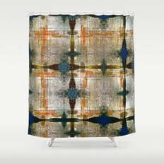 Midday copybook rush cue. Shower Curtain