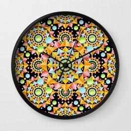 Circus Confetti Wall Clock