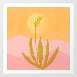 Southwest Sunset / Desert Landscape Art Print