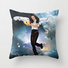 Barbarella Throw Pillow