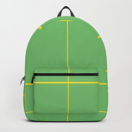 Yellow Paths Backpack