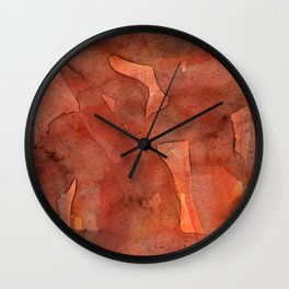 Abstract Nudes Wall Clock