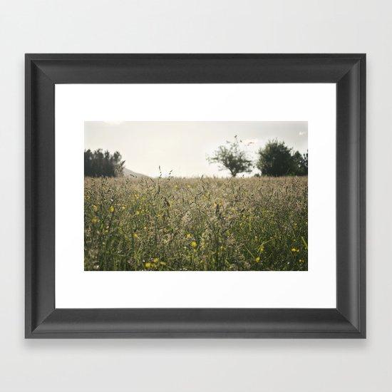 paisaje Framed Art Print