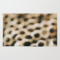 honeycomb Area & Throw Rugs featuring Honeycomb by Laura Ruth