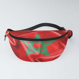 Morocco Flag Fanny Pack