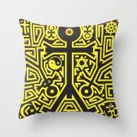 religion Throw Pillows featuring Religion Icon by Thisisnotme