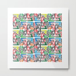 Prehispanic by Manuel Jaen Metal Print