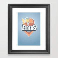 Elders of Vulcan Framed Art Print
