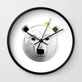 Polar Bear of Kings Wall Clock
