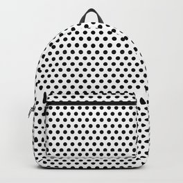 Modern black and white simple elegant pattern Backpack