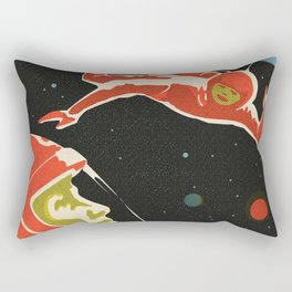 Cosmonauts Rectangular Pillow