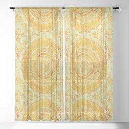 Sun Mandala 4 Sheer Curtain