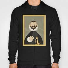 Nobleman with his Hand on his Chest by Greco Hoody