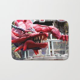 Fire Breather  Bath Mat