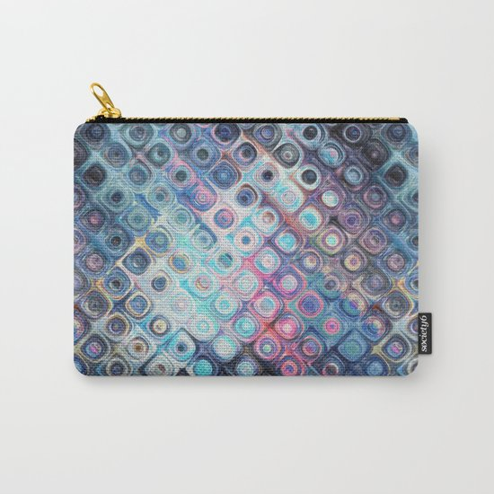 Reflecting Circles of Color Carry-All Pouch