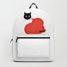 Comic Style- Cute Cat Wut Backpack