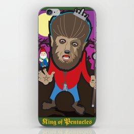 King of Pentacles iPhone Skin