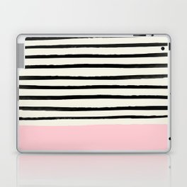 Millennial Pink x Stripes Laptop & iPad Skin
