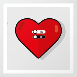 what about love? Art Print