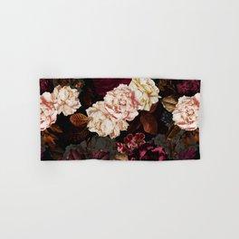 Vintage & Shabby Chic - Midnight Rose and Peony Garden Hand & Bath Towel